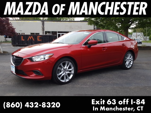 Pre-Owned 2017 Mazda6 Touring Moonroof & Bose Package